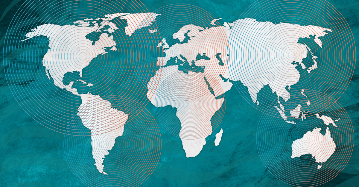 International expansion map